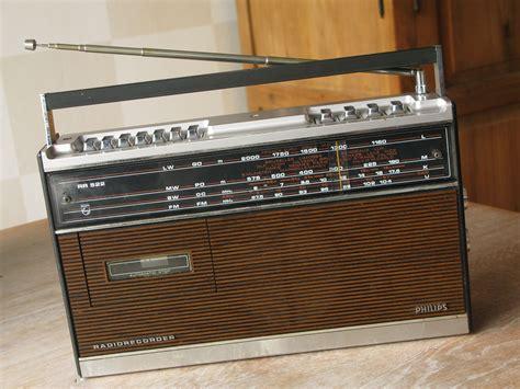 radio cassette recorder philips rh522 portable radio cassette recorder retro