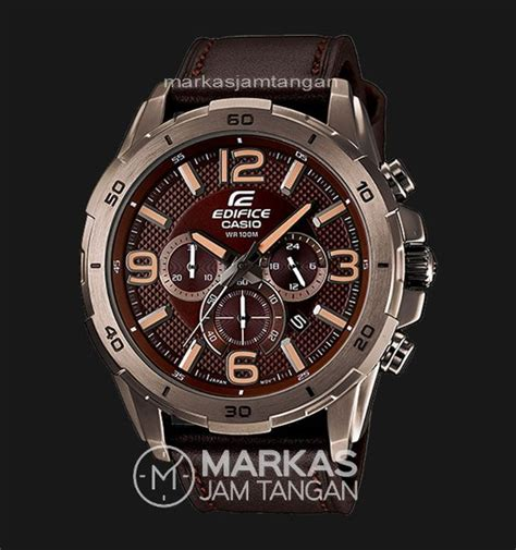 Big Promo Jam Tangan Pria Naviforce Lether Chrono Aktif Original 1 jual jam tangan pria casio edifice efr 538 chronograph leather di lapak markasjamtangan