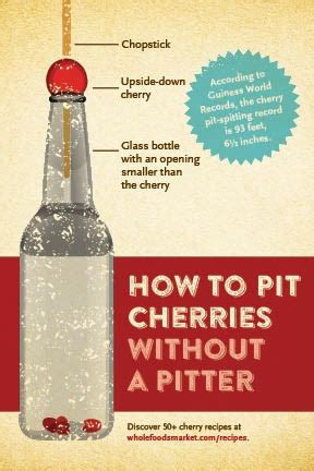 4 ways to pit a cherry whole foods market
