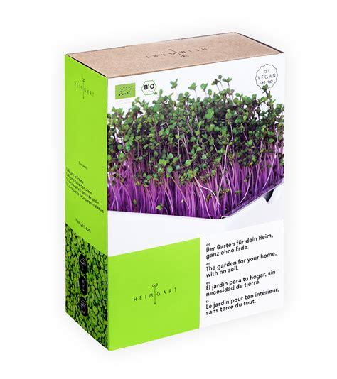 Starter Kit Microgreens microgreens starterkit keimschale bio saatpads