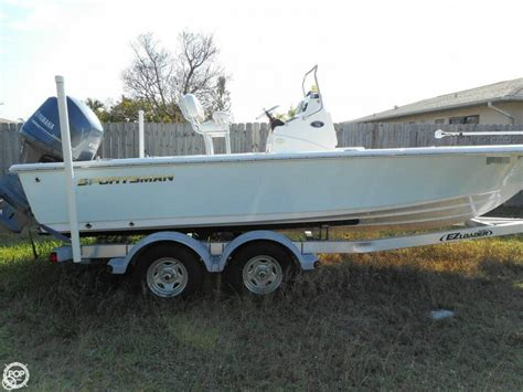 sportsman boats used for sale used sportsman bay boats for sale boats