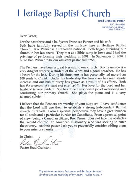 thank you letter to pastor sle sle of appreciation letter to pastor 28 images thank