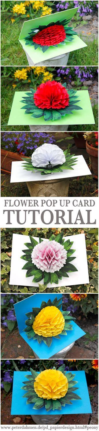 best 25 flower pop up card ideas on popup cards pop up card and pop up
