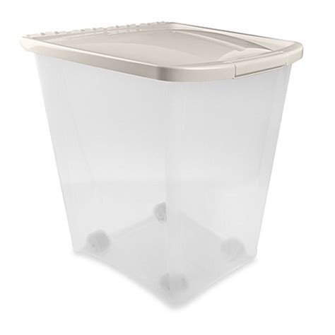food container 50 lbs ness 50 pound pet food container bed bath beyond