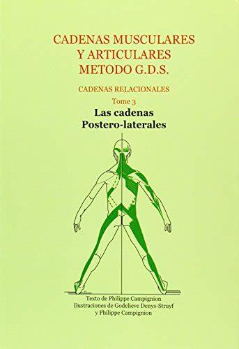cadenas musculares philippe cignion pdf descargar libro cadenas musculares y articulares metodo g
