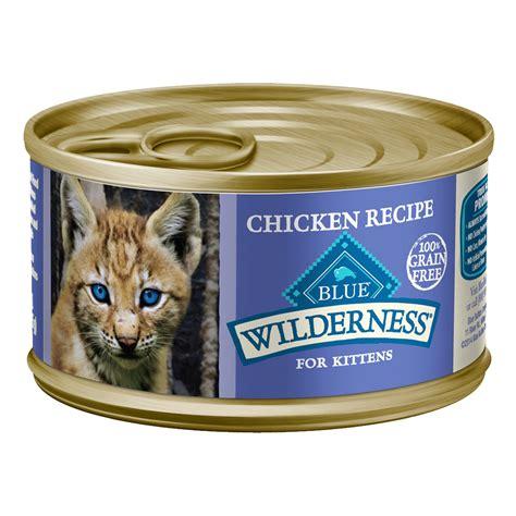 blue grain free food blue buffalo wilderness grain free chicken canned kitten food petco
