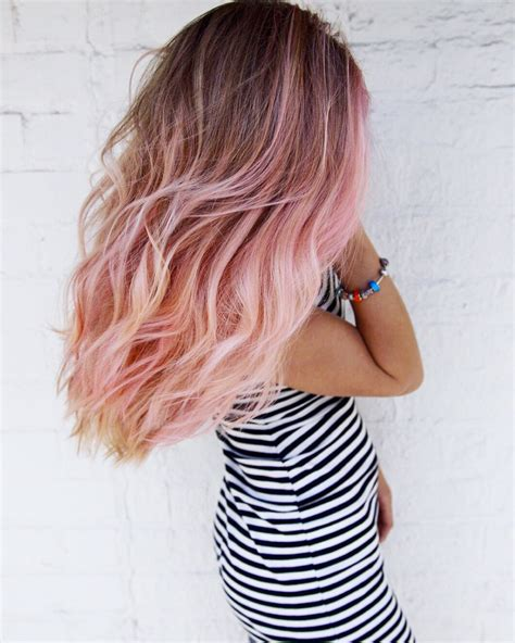 how to get pink color out of hair pink unicorn hair hair clip in extensions