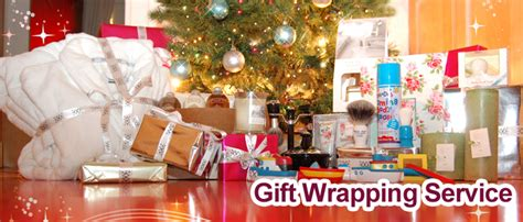 gift wrapping service index of images landing