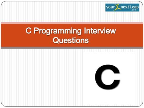 interview pattern programs in c c programming interview questions