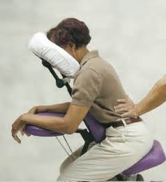 Chair Massage Techniques Massage Reduces Stress Anxiety While Improving Math