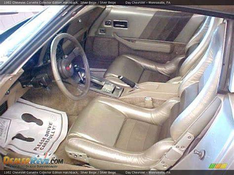 silver beige interior 1982 chevrolet corvette collector