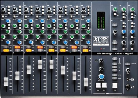 Daftar Audio Mixer Built Up ssl x desk superanalogue mixer vintage king audio