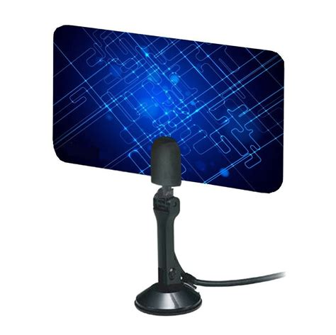 digital indoor tv antenna hdtv dtv box ready hd vhf uhf