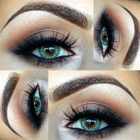 eyeliner tutorial for green eyes 14 overwhelming smokey eye makeup looks and tutorials