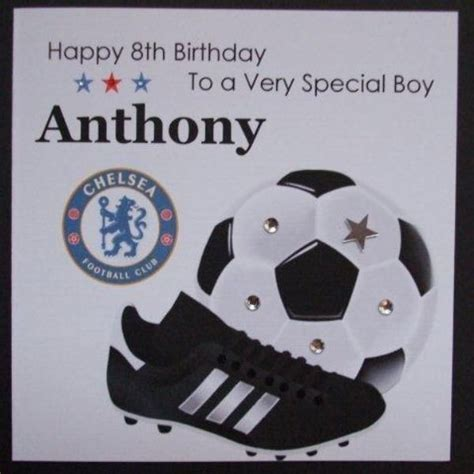 Handmade Football Cards - personalised handmade west ham birthday card football