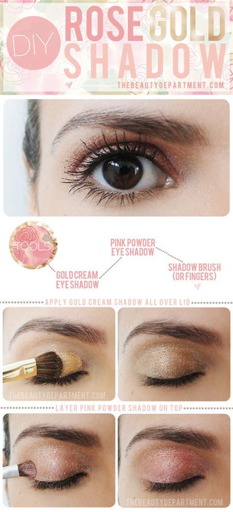 diy eye shadow diy gold eye shadow bridal want that