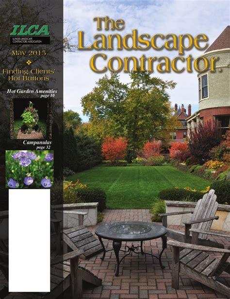 landscape contractor magazine gardening landscaping