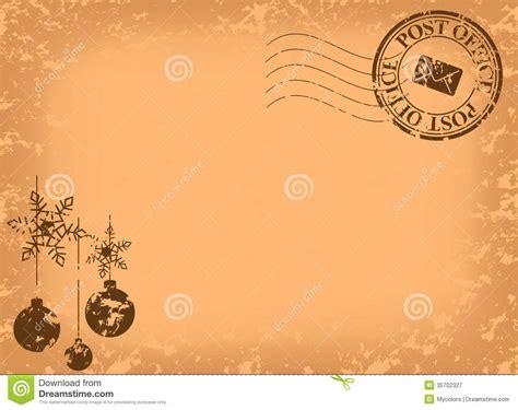 imagenes tarjetas retro postal del vintage de la navidad vector ilustraci 243 n del