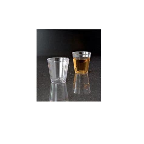 mini plastic glasses 60 shot glasses clear hard plastic 1 oz mini wine glass