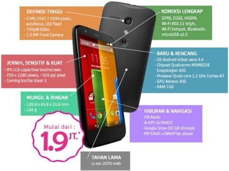 Handphone Motorola Moto G spesifikasi ponsel moto g motorola moto g handphone
