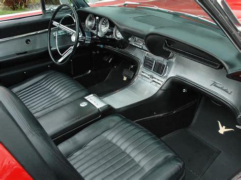 interior image 1962 ford thunderbird convertible 81778