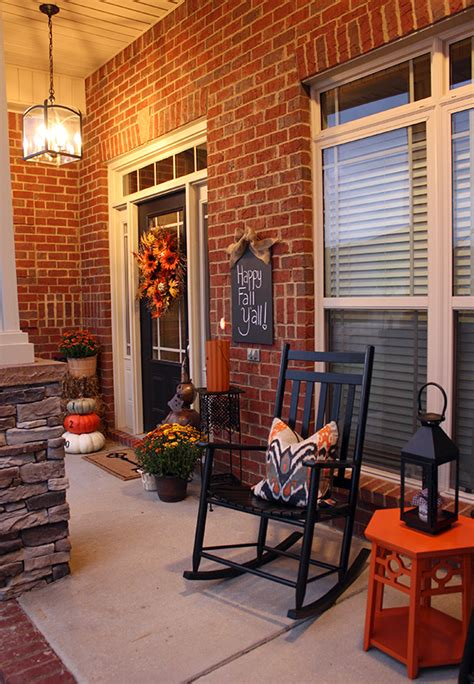 fall decor for front porches fabulous fall porches tauni co