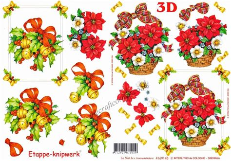 Decoupage 3d - baskets of flowers bells designs 3d decoupage