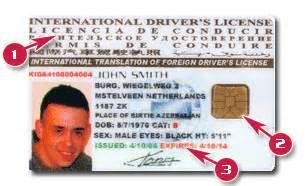 Car Rental Los Angeles International Drivers License International Business International Business Driving License