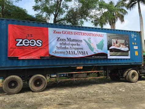 Kasur Busa Hilon Zees Mattress Ekspor Ke Malaysia Tempat Tidur Minimalis