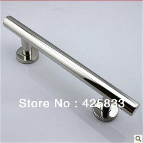 300mm 304 stainless steel big glass wood door handles