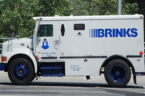 brinks armored trucks armored security vehicles go electric trucks