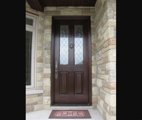 Single Glass Exterior Door Exterior Doors Single Entry Doors Amberwood Doors Inc