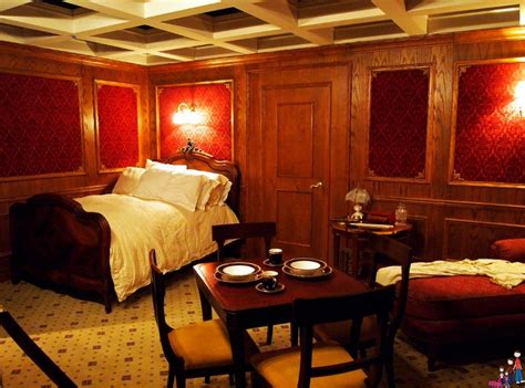 first class bedrooms on the titanic commemorate the 100th anniversary of the sinking of the