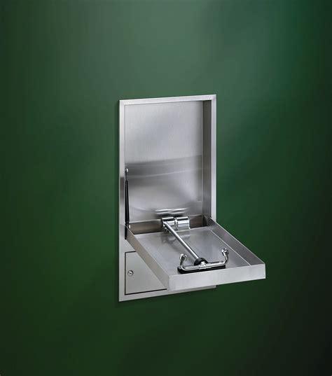 cabinet concealed swing eyewash barrier free
