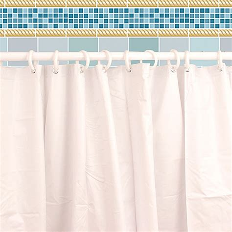 Cleaning A Shower Curtain by Easy Clean Shower Curtain Qc Supply