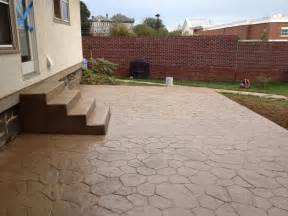 Cement Patio Designs Tallerdeimaginacion Sted Concrete Patio Designs Pics