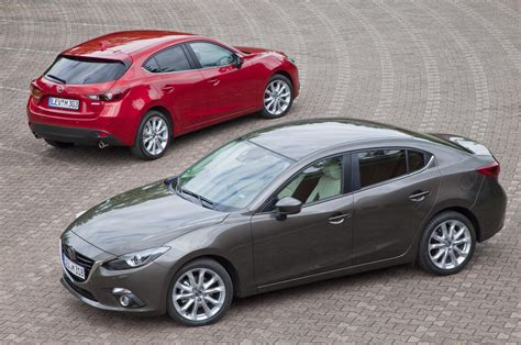 new mazda 3 all new mazda3 fastback sedan coming to britain