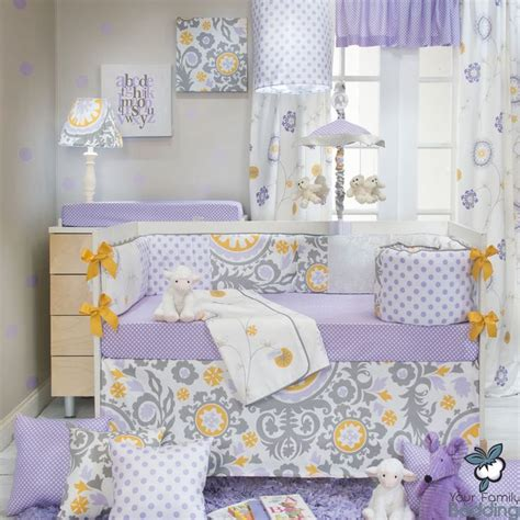 Purple Yellow And Grey Bedding by 25 Best Ideas About Quilt Bedding Sets On