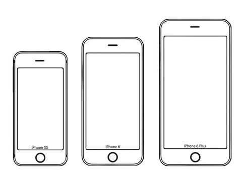 Iphone X Coloring Page by See How The Iphone 6 And 6 Plus Fit In Your Right Now