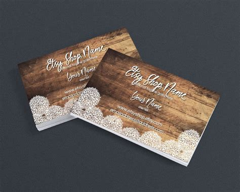 Wedding Business Cards