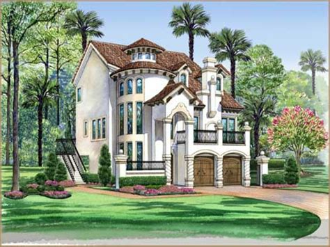 italian style house plans 3 story house with pool 3 story mediterranean house plans