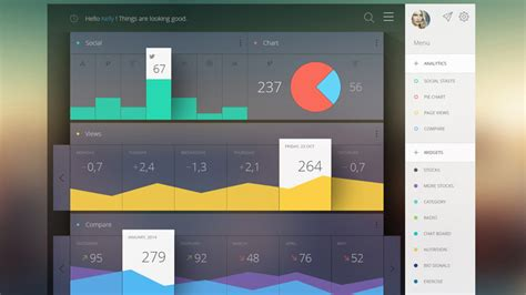 Ui Design Ideas by 30 Dashboard Ui Designs For Your Inspiration
