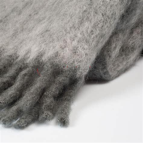 plaid pour canape 528 plaid en mohair 183 el 233 gant 224 franges epaisses 183 stitching