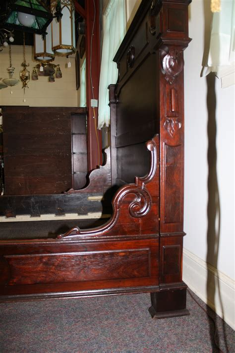 Footboards For Sale by 1900 Rosewood Bed With Curved Footboard For Sale Antiques Classifieds