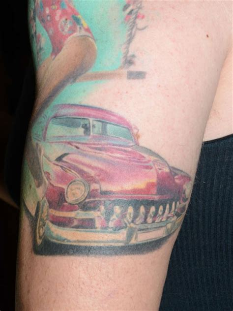 car enthusiast tattoo nothing completes your love for a car or carmaker like