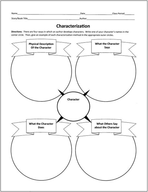 design graphic organizers free free graphic organizers for teaching literature and reading
