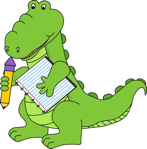 clipart school school alligator clip school alligator image