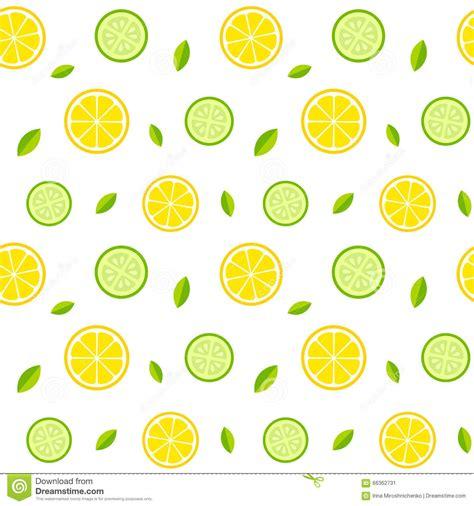 seamless lemon pattern seamless lemon and cucumber pattern stock vector