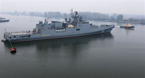 Canadian Home Design Blogs smooth sailing advanced russian frigate heads to barents