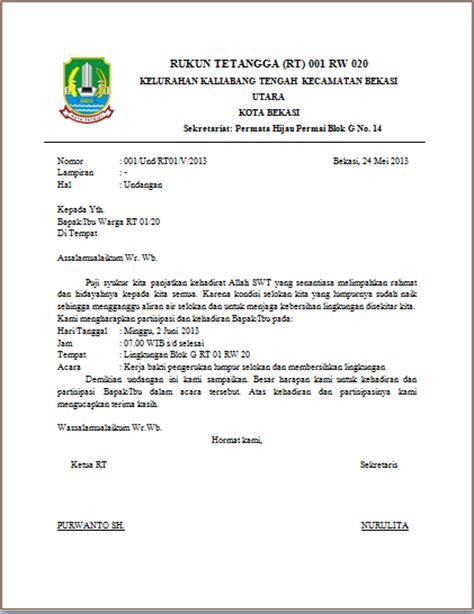 image contoh surat resmi